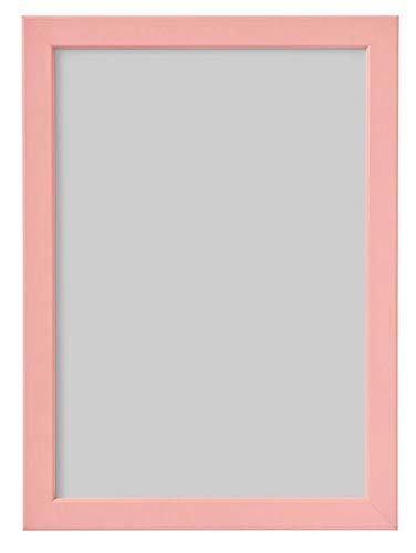 unknow IKEA FISKBO Bilderrahmen, hell rosa/apriko, 21x30cm DIN A4 Rahmen Dekoration Wohnen