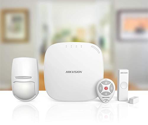 LGtron HIKVISION-LGD8008 LAN WLAN GPRS App GSM SMS/Anruf Alarmanlage DE-Version EN50131-2 868MHz 2-Wege vollintegrierte Video-Fkt. Auto. Alarmvideo vor-/nach Alarm Support