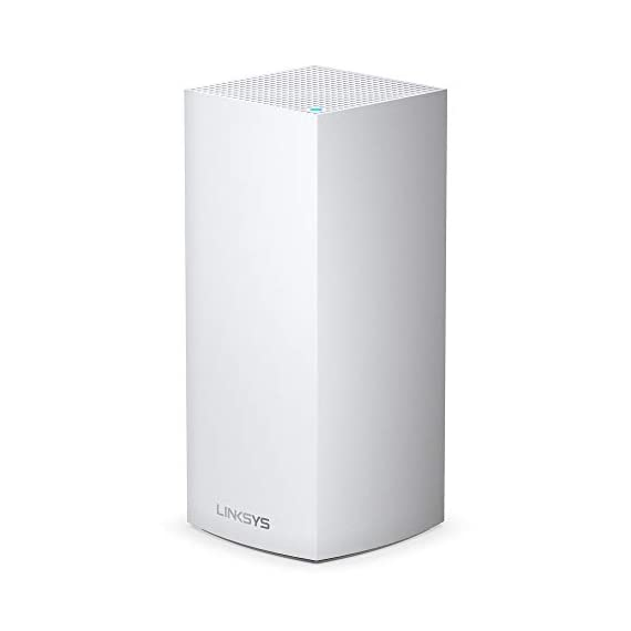 Linksys AX5300 Smart Mesh Wi-Fi 6 Router Whole Home WiFi Mesh System,Tri-Band AX Wireless Gigabit Mesh Router, Fast… 1 Mesh Wi-Fi router provides next-gen Wi-Fi 6 speeds and whole-home mesh coverage Bandwidth for 50+ wireless devices and coverage for homes up to 6000 square feet Provides ultra-fast, reliable Wi-Fi coverage for 4K streaming, gaming, and more