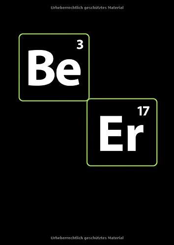 Notizbuch: Bier Chemie Serienjunkie Heisenberg Witz Geschenk 120 Seiten, A4, Punktraster