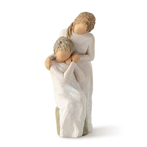 Willow Tree Figurine, cast Stone, Loving My Mother, 6.5