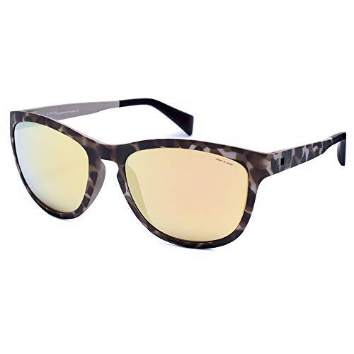 italia independent 0111-145-000 Gafas de sol, Marrón, 55 para Mujer