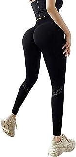 Yoga Pants High Waist Leggings Sport Pants Seamless Tummy Control Butt Lift Stretchable Tights Waist Compression Fitness G...