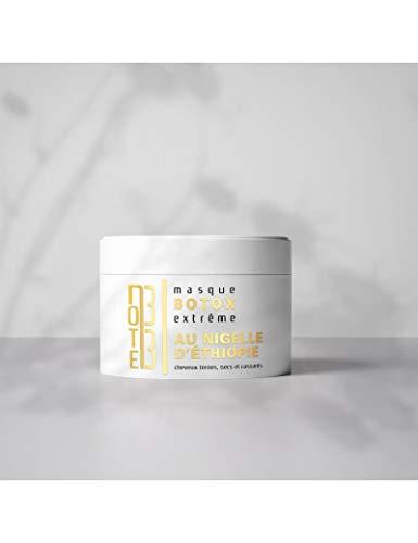 Botox capillaire huile de nigelle Ethiopienne - 250 ml - Made in France - Hydrate nourrit tous types de cheveux - cheveux nourris et revitalisés - éclat et brillance naturelle