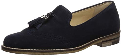 ARA Women's Kayla Shoe, Blue Suede, 7 Narrow/Wide Shaft UK (9.5 US)
