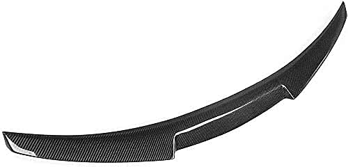 Nimeny AleróN Trasero del Coche,Fibra De Carbono/ABS AleróN De Labio del Maletero Trasero Tail Lip Wing ModificacióN Piezas Accesorios para Audi A6 C7 4-Door Sedan 2013 2014 2015 2016 M4 Style