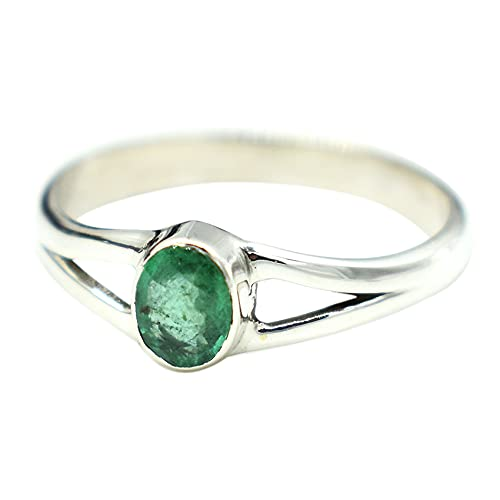 AAA Quality Natural Emerald Ring jewel natural Handmade Award emerald Max 67% OFF