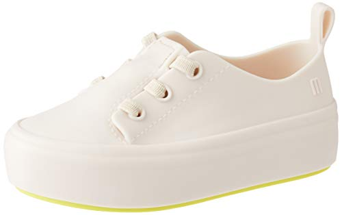 Tênis Mini Melissa Ulitsa Sneaker - 25 - Bege/amarelo