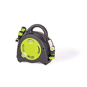 GF Garden Aquabag Enrollador de Manguera Compacto, Colorido, con diseño Moderno y Atractivo, Ideal para el riego de…