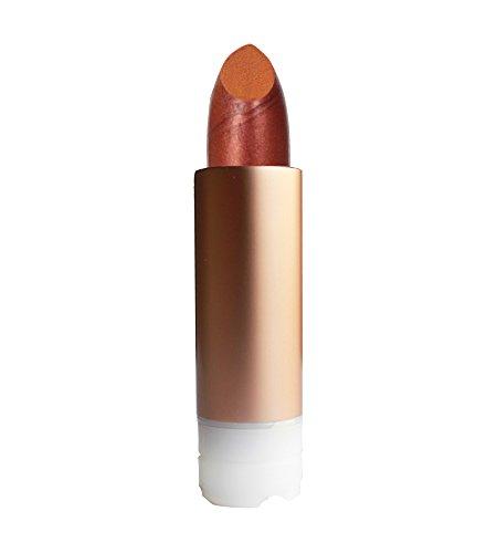 ZAO REFILL Pearly Lipstick 407 kupfer orange-rot schimmernder Lippenstift-Nachfüller (bio, vegan, Naturkosmetik) 111407