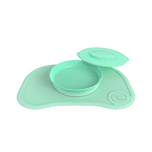Twistshake 78131 - Juego de vajilla, color pastel verde