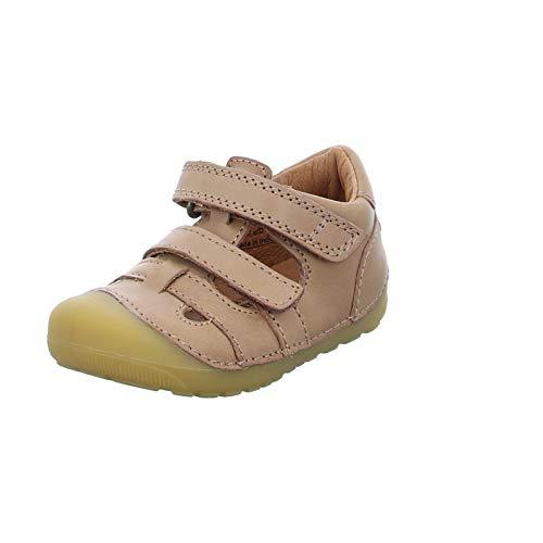 Bundgaard Kinder Sandale Petit Sandal Sommerschuh Freizeitsandale Ledersandale braun (Caramel) Größe 19 EU EU