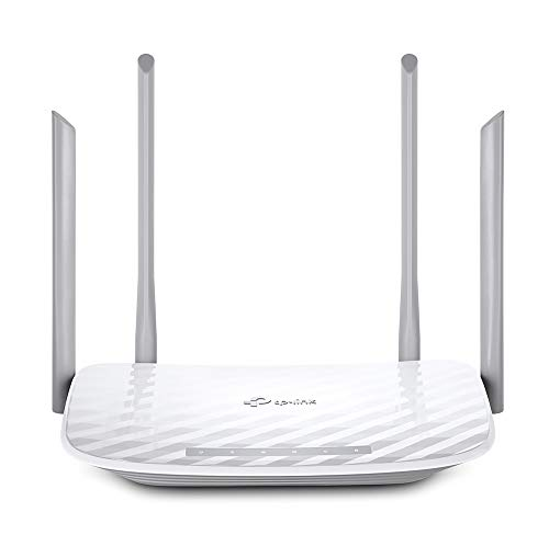 TP-Link AC1200 Wireless Dual Band Router with 4 External Antennas (Archer C50)