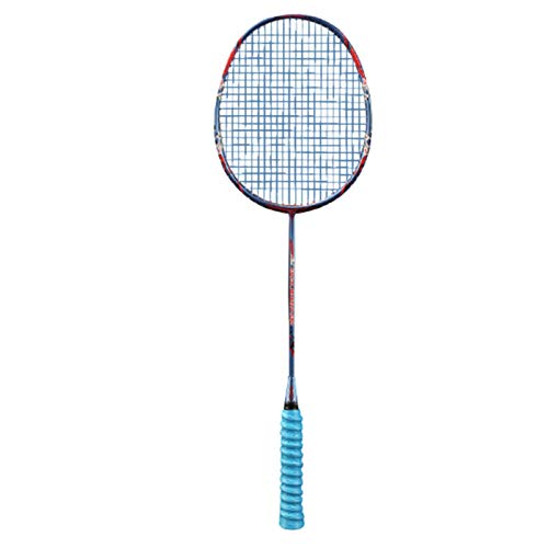 JGRH Bádminton Raqueta Carbono Profesional Badminton Raqueta Ultralight 57g Fuerza de Velocidad Rqueta Padel 30-32 lbs Cuerdas Libres Bolsa Original (Color : Blue)