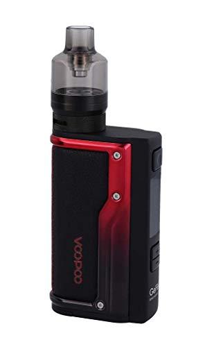 VOOPOO Argus GT E-Zigaretten Set | VW, Smart, TC (Ni, Ti, SS, TCR-M1/M2/M3) | Betrieb über 18650er Akkuzellen | max. 160 Watt (schwarz-rot)