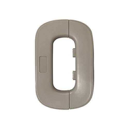 NeuWee Baby Proofing Home Refrigerator Fridge Freezer Door Lock, Toddler Kids Child Fridge Locks Safety Lock, 3M Adhesive No Drilling (Gray)