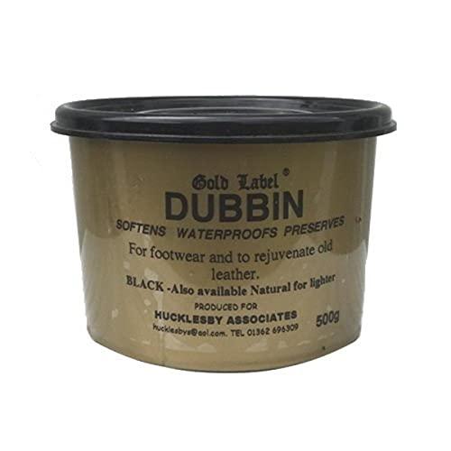 William Hunter Equestrian Gold Label - Dubbin Black 500G