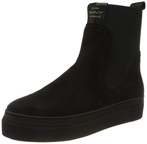 GANT FOOTWEAR Damen Vanna Chelsea-Stiefel, Black, 40 EU