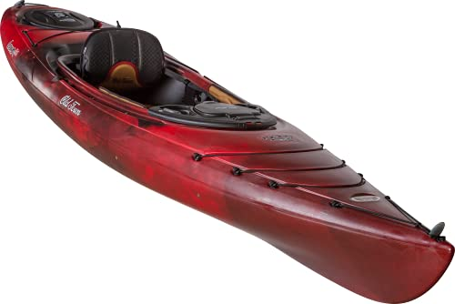 Old Town Canoes & Kayaks Loon 126 Recreational Kayak (Black Cherry, 12 Feet 6 Inches)