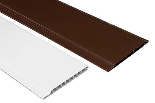 1 qm | Paneele | Wandverkleidung | Auswahl | 200x10cm | HEXIM | PP10-01 weiß