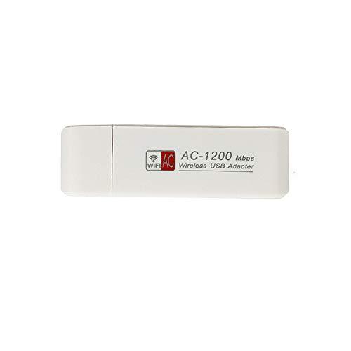 Staright AC1200M Adaptador inalámbrico USB3.0 de Doble Banda 2.4GHz / 5GHz Adaptador de Red inalámbrica Dongle WiFi con CD Compatible con Mac Windows Vista/XP / 2000/7/8/10 OS