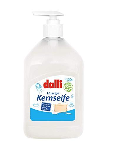 Dalli Flüssige Kernseife, 500 ml parfümfrei seife Haut Pflegend universal (1er-Pack)