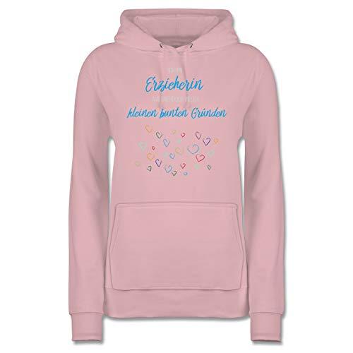 Sonstige Berufe - Erzieherin aus vielen kleinen Gründen - L - Hellrosa - Pullover für Erzieher - JH001F - Damen Hoodie und Kapuzenpullover für Frauen