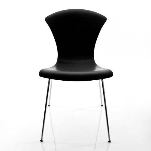 Kartell Nihau Stuhl, schwarz Polypropylen