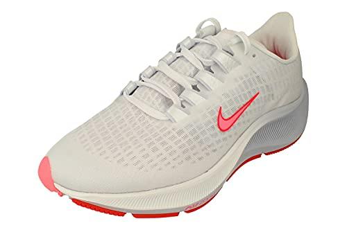 Nike Air Zoom Pegasus 37 VT Mujeres Running Trainers DJ4019 Sneakers Zapatos (UK 7.5 US 10 EU 42, White Sunset Pulse 104)