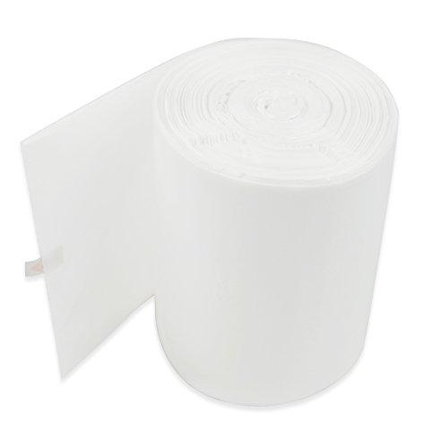 Ggbin 26 Gallon Small Trash Bags White Wastebasket Bags 115 Counts