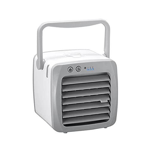 Mini dispositivo di raffreddamento aria, mini condizionatore d aria portatile, ventilatore e purificatore del dispositivo di raffreddamento aria e umidificatore, del desktop USB piccolo dispositivo di