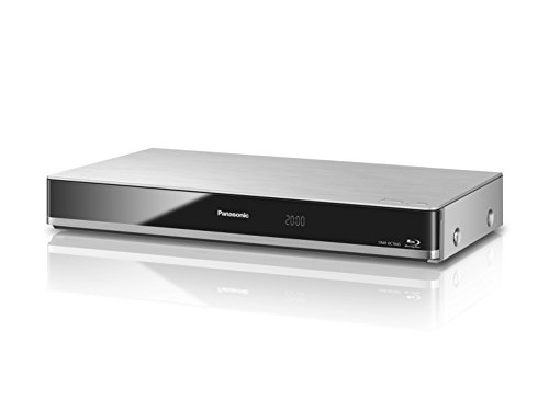 Panasonic DMR-BCT845EG Blu-ray Rekorder 1TB Festplatte (Twin HD DVB-C-Tuner, Einkabelfunktion, WLAN, 2x CI+, HbbTV, 4K Upscaling, Streaming) silber