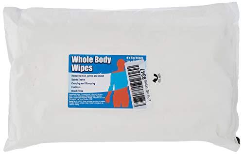 Whole Body Wipes Lot de 4.