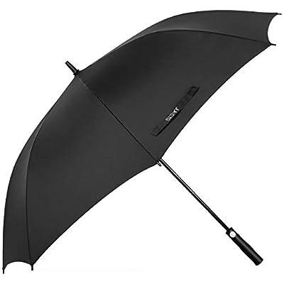 Umbrella,JUKSTG 10 Ribs Auto Open/Close Windproof Umbrella, Waterproof Travel Umbrella,Portable Umbrellas,Black