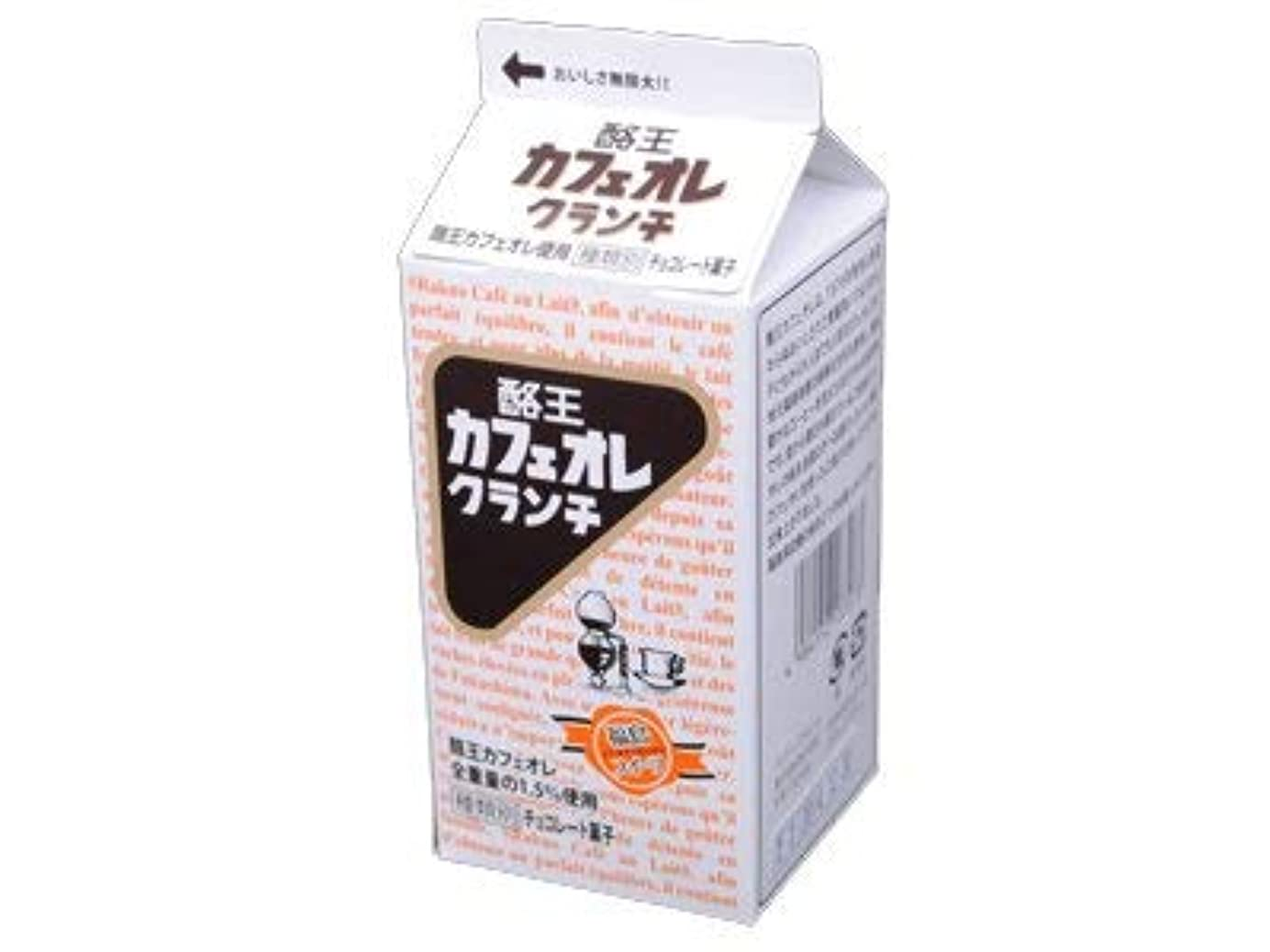 有害残り折り目酪王カフェオレクランチ 5個入り 12箱セット 福島土産 *