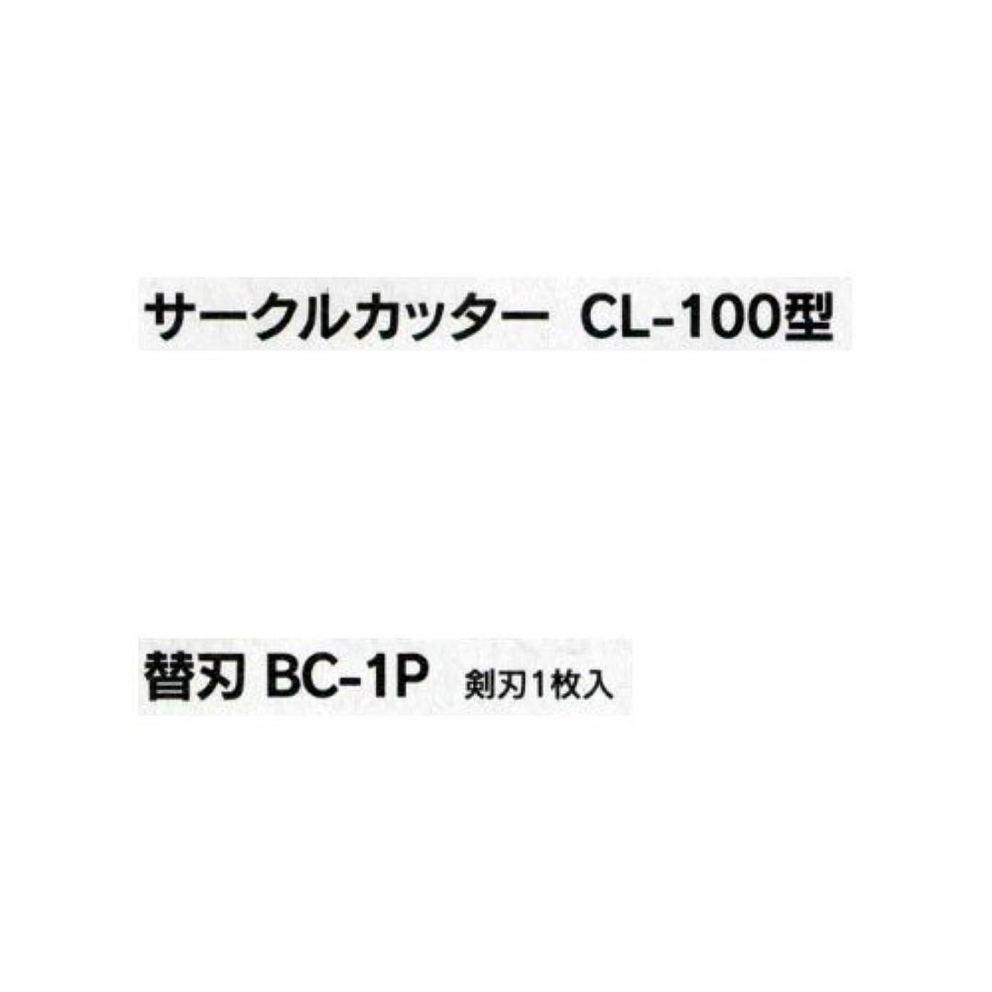 ふける本部氏円切りカッター替刃 BC-1P B05-3407