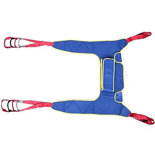 Eslinga De Aseo para Polipasto, Equipo De Elevación Médica Eslinga para Inodoro Bariátrica para Discapacitados Cinturón De Transferencia Médica Cabestrillo De Cuerpo Entero ⭐