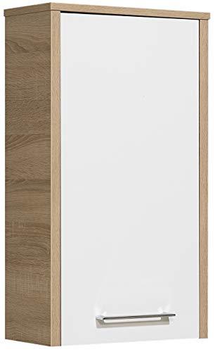 Pelipal 382 Lagos Wandschrank Holzdekor Eiche Natur, 20,0 x 40,0 x 72,0 cm