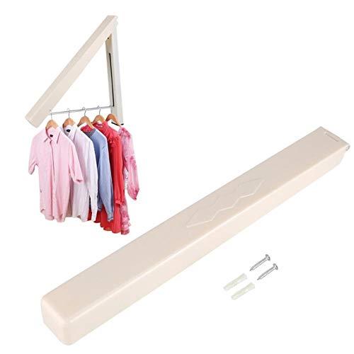 Opvouwbare intrekbare binnenmuur kleding Hangers Organizer Magic kleding handdoek drogen handdoek rek voor sjaal riem BH pak