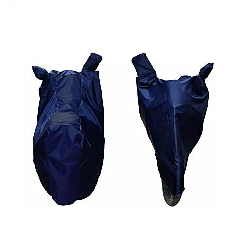 VAHAN KAWACH UV Ray Protection Tear Resistant Dustproof Bike Cover for Ducati Streetfighter V4, BS6 Two Wheeler Body Cover (Navy)