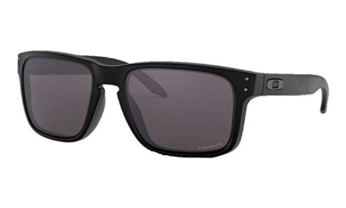 Oakley SI Men's Holbrook OO9102-K355 Sunglasses Matte Black/Prizm Grey Polarized