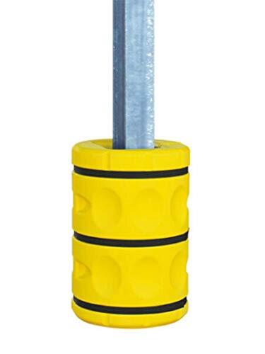2 Stück Säulenschutz Pfostenschutz Schutz für Säulen bis 20x20cm Rammschutz Kunststoff