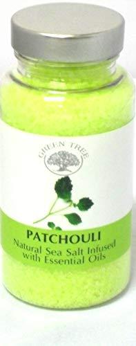 GREEN TREE CANDLE 5060116877311 Patchouli Graveur de sel de mer Aroma