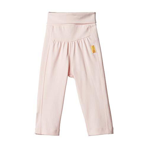 Steiff Baby-Mädchen Jogginghose Jeans, Rosa (BARELY PINK 2560), 74 (Herstellergröße:74)