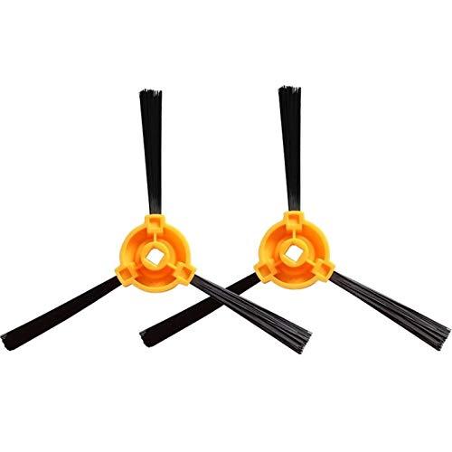 WUYANZI 35 unids/Set Filter Side Brush Mop Kit Fit para Conga Excellence 990 5040 Piezas de aspiradora robótica Piezas de la Etiqueta Piezas de Filtro de Esponja MOP