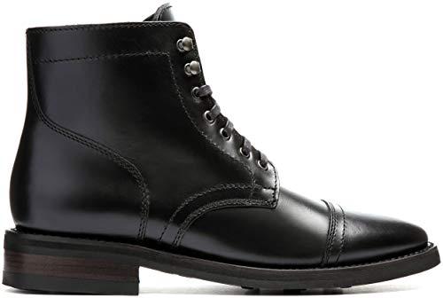 Thursday Boot Company Captain Men's 6″ Lace-up Boot, Black, 11.5 M US
