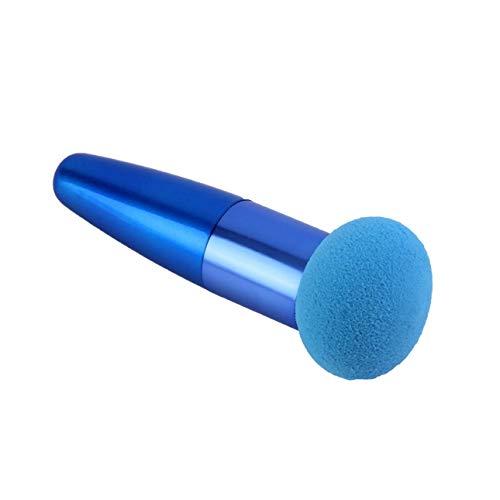 Beauté Professionnel Cosmétique Maquillage Éponge Bouffée Bâton Lisse Forme Ronde Poudre Puff Maquillage Outil