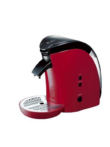 deviceSTYLE Brunopasso UCC ECO-POD専用コーヒーメーカー レッド EP-1-R