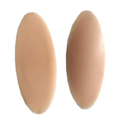 MOVKZACV 1 par de almohadillas de silicona para pantorrillas, corrector de piernas para mujeres, almohadillas de gel autoadhesivas de pantorrilla para piernas torcidas o delgadas