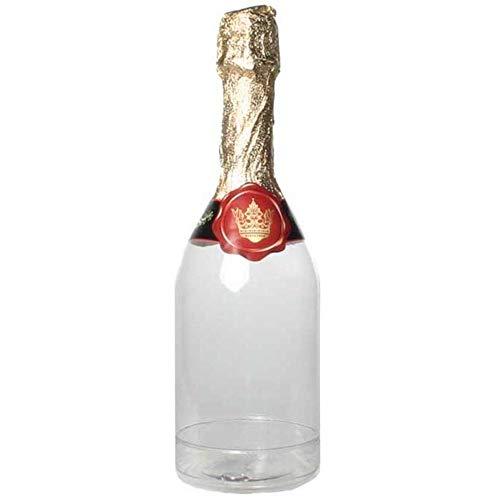 Sekt Flasche zum Befüllen mit Aufkleber zum 18. Geburtstag